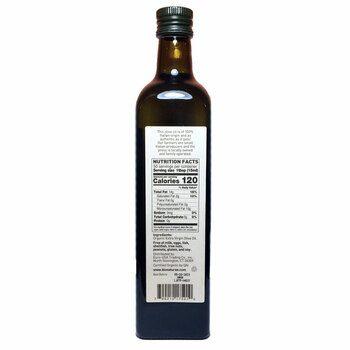 Органическое оливковое масло экстра вирджин  750 мл  фото состава