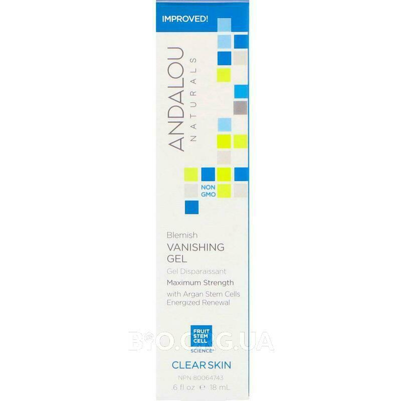 Фото состава Blemish Vanishing Gel Maximum Strength Clear Skin 18 ml