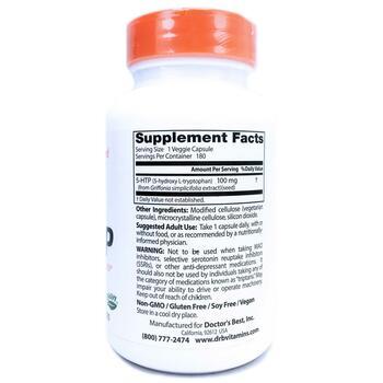 5-HTP 100 мг 180 капсул  фото состава