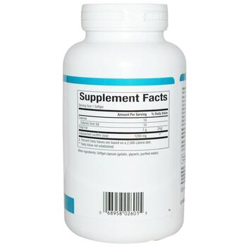 Нейчералс Факторс Лецитин неотбеленный 1200 мг 180 капсул  фото состава