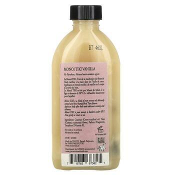 Тиаре кокосове масло и ваниль  фото состава