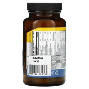 Мультивитаминный и минеральный комплекс для мужчин без железа ...  фото состава