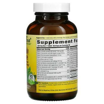 Витамины для ежедневного использования без железа 90 таблеток  фото состава