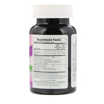 Нейчералс Плюс Пробиотики AcidophiKidz детские жевательные кон...  фото состава