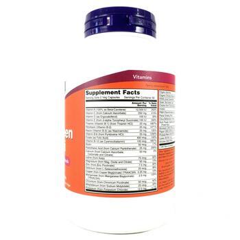 Мультивитамины EcoGreen без Железа 180 капсул  фото состава