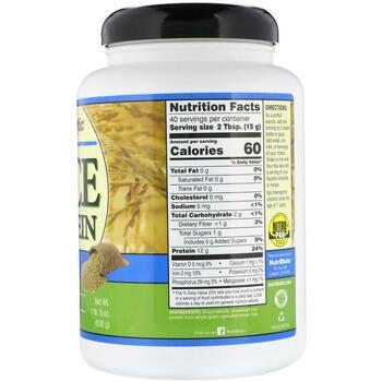 Рисовый протеин 600 г  фото состава