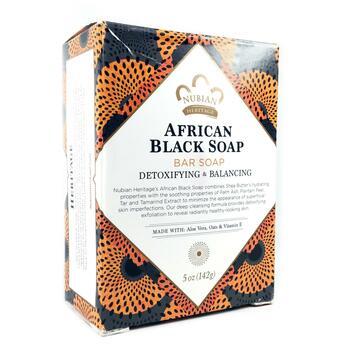 Африканское черное мыло 141 г  фото состава