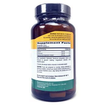 Цитрат Магния 250 мг 120 таблеток  фото состава