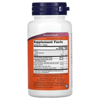 7 Кето LeanGels контроль веса 100 мг 60 гелевых капсул  фото состава
