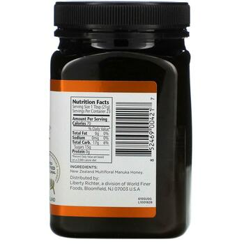 Apiwellness 20 Bio Active Manuka Honey 1 500 г  фото состава