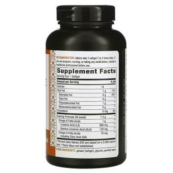 Нэйчерс Вэй EFAGold Evening Primrose Max Strength 1300 mg 120 ...  фото состава