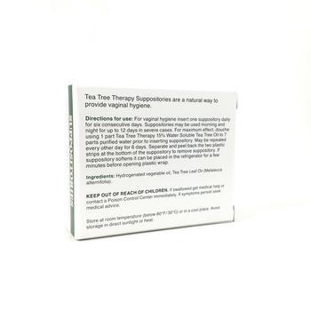 Чайная терапия Суппозитории с маслом чайного дерева для гигиен...  фото состава