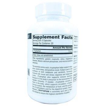 L-Триптофан 500 мг 60 капсул  фото состава