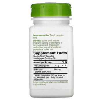 Красный клевер 400 мг 100 вегетарианских капсул  фото состава