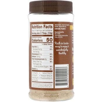 PB2 Арахисовое масло в порошке с какао 6 184 г  фото состава