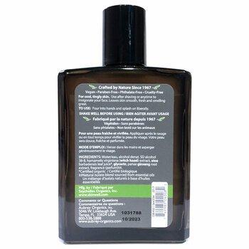 Обри Органикс Лосьон после бритья запах сосны 118 мл  фото состава