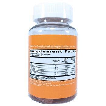 Витамин С для детей апельсиновый вкус 60 жевательных конфет  фото состава