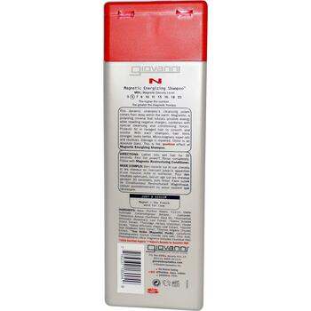 Джованни Магнитный шампунь заряжающий волосы энергией 250 мл  фото состава