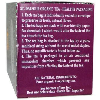 Органический чистый чай Дарджилинг  25 чайных пакетиков .07 2 ...  фото состава