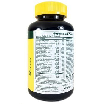 Natures Plus Мультивитамины и минералы для женщины 120 таблеток  фото состава