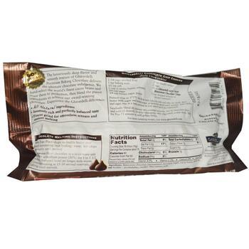 Гигарделли шоколадные для выпечки 283 г  фото применение