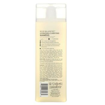 50 50 Balanced Hydrating Clarifying Shampoo 8 250 ml  фото применение