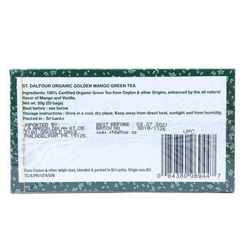 Зеленый чай Золотое Манго 25 пакетиков 50 г  фото применение