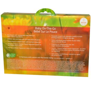Calendula Baby On The Go Kit 6 Pieces  фото применение