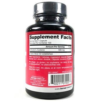 NAC N-ацетил-L-цистеин 500 мг 100 растительных капсул  фото применение