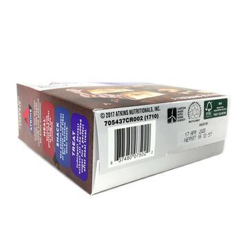 Аткинс шоколадные батончики с карамелью и орехами 5 батончиков...  фото применение