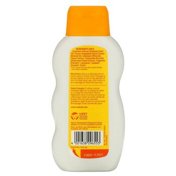 Веледа успокаивающее детское масло календулы 6 200 мл  фото применение
