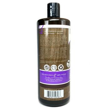 Неочищенное черное мыло с маслом ши 946 мл  фото применение