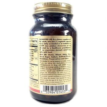 5 Гидрокситриптофан 100 мг 90 вегетарианских капсул  фото применение