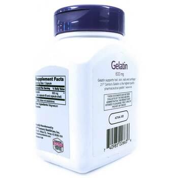 21 век Желатин 600 мг 100 капсул  фото применение