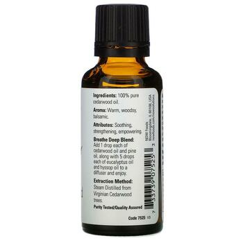 Essential Oils Cedarwood 30 ml  фото применение