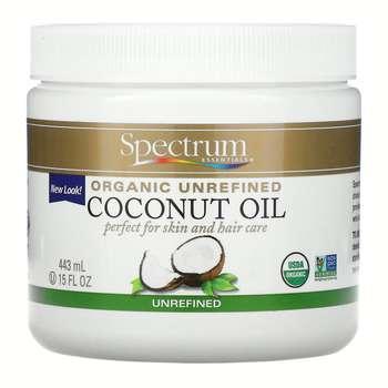 Спектрум Ессеншл органическое кокосовое масло нерафинированное...  фото применение