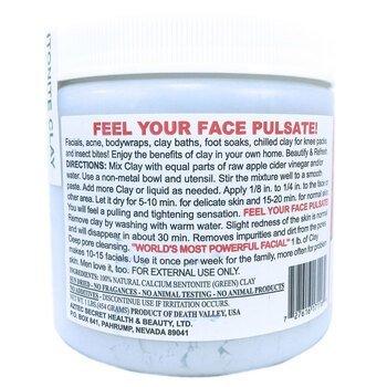 Индийская лечебная глина маска для лица 454 г  фото применение