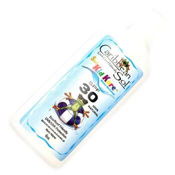 Солнцезащитный крем для детей SPF 30 Водостойкий 177 мл  фото применение