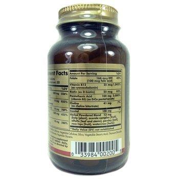 B-комплекс с витамином С Стресс Формула 100 таблеток  фото применение