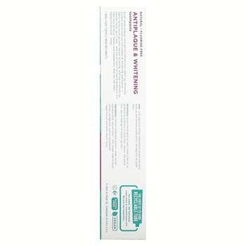 Томс Мэйна отбеливающая зубная паста без фтора мята 155.9 г  фото применение