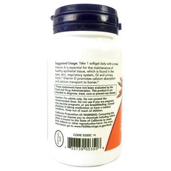 Витамин A и Витамин D 10000/400 МЕ 100 капсул  фото применение