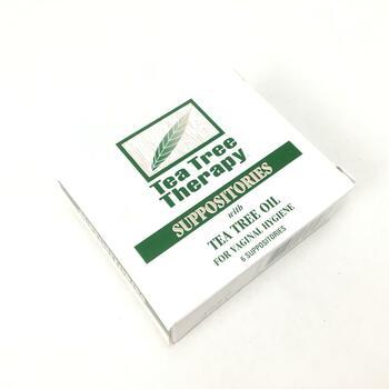 Чайная терапия Суппозитории с маслом чайного дерева для гигиен...  фото применение