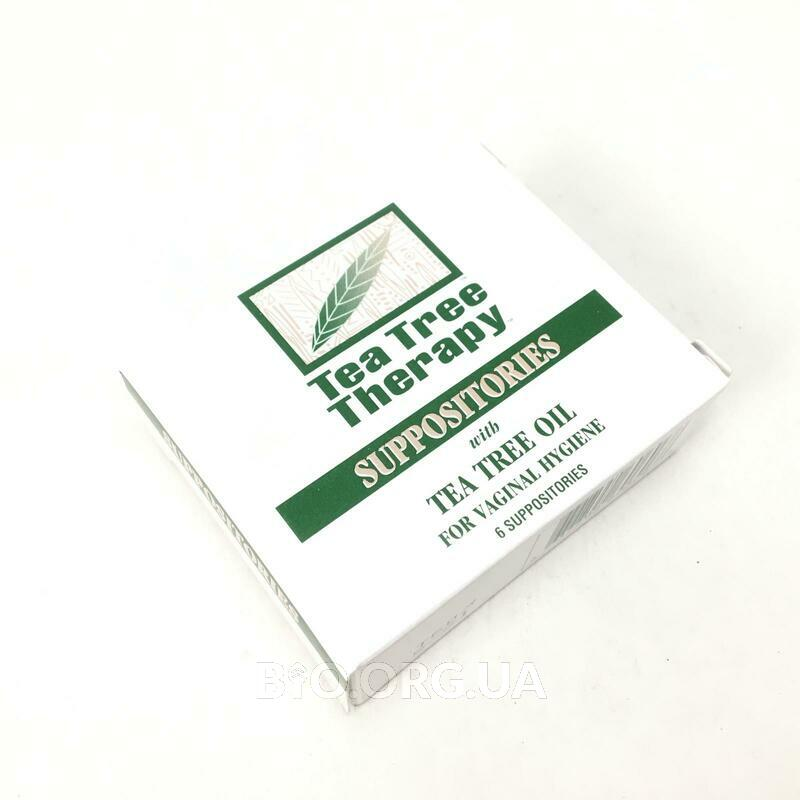 Фото применения Suppositories with Tea Tree Oil for Vaginal Hygiene 6 Suppositories