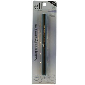 Водостойкая подводка для глаз ELF Cosmetics, цвет черный 1,8 г...  фото применение