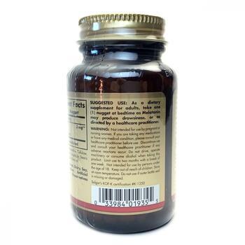 Мелатонин 3 мг 120 таблеток  фото применение