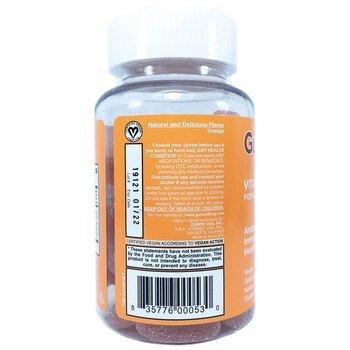 Витамин С для детей апельсиновый вкус 60 жевательных конфет  фото применение
