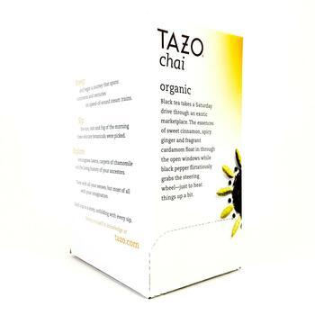 Тазо органический черный чай 20 пакетиков 54 г  фото применение