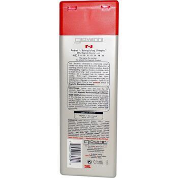 Джованни Магнитный шампунь заряжающий волосы энергией 250 мл  фото применение