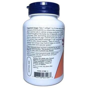 CoQ10 High Potency Cardiovascular Health 400 mg 60 Softgels  фото применение