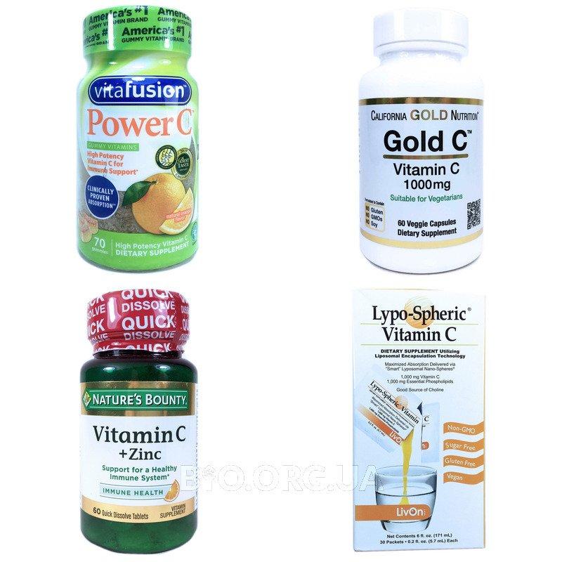 Категория Витамин С (Vitamin C)
